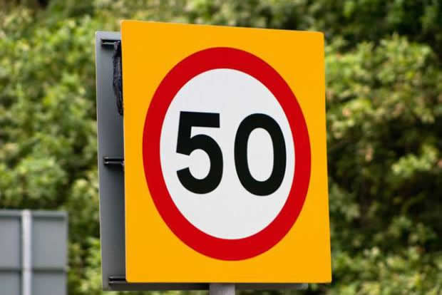50mph limit for Glen Ogle A85?
