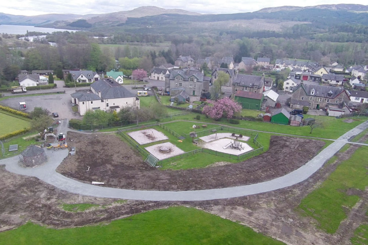 Mini Tarmachan Ridge quietly evolves in Breadalbane Park?