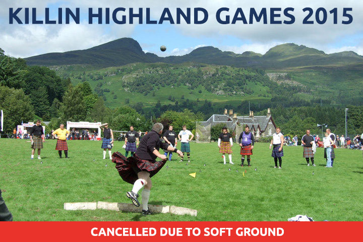 Killin Highland Games 2015 cancelled