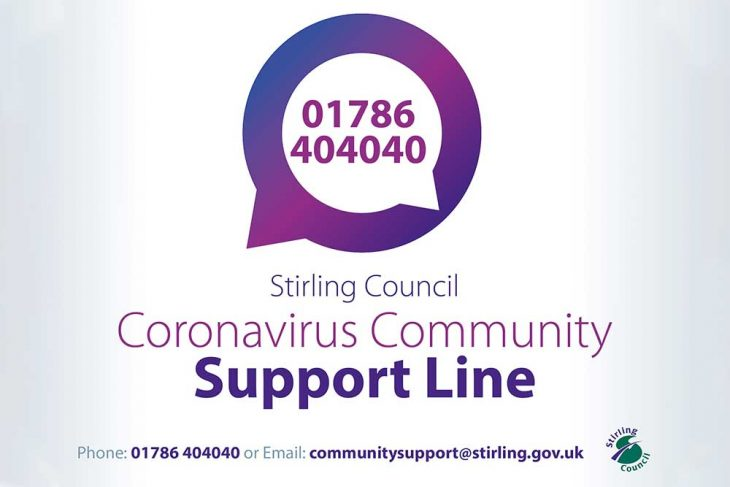 COVID-19 community support line launched